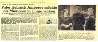 1960-08-16 Maria Veen - Pater Amberge