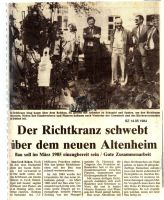 1984-05-14 Altenheim St Ludgerus -  Richtfest