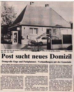 1987-10-23 Post sucht neues Domizil